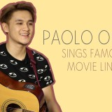 [VIDEO] Paolo Onesa Sings Movie Lines