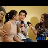 WATCH: James Caressing Hand Over Nadine at the This Time Presscon Interview