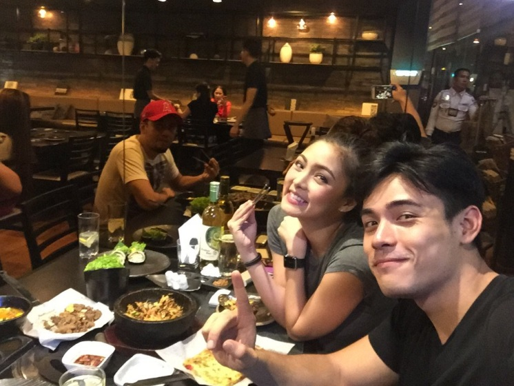 Xian Lim Takes Kim Chiu On Dinner For A Successful MMK Episode
