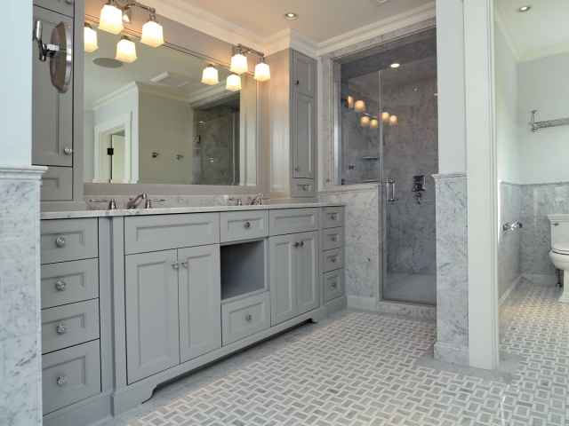 Bathroom trends going tub less