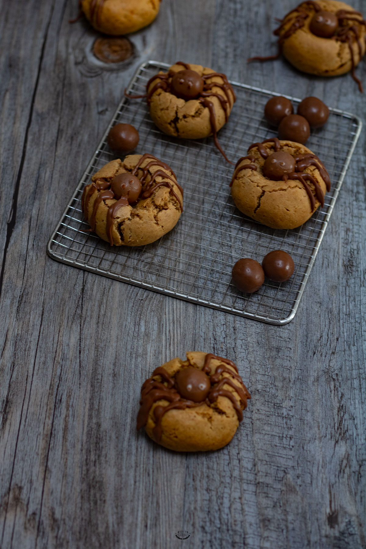 Recettes Faciles Pour Halloween Biscuits Araignées Biscuits Halloween Faciles