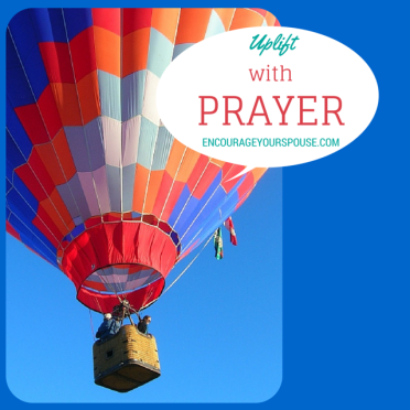 Uplift with Prayer Hot Air Balloon