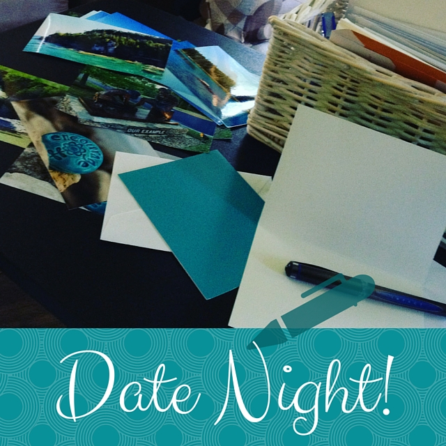 Write a Letter for Date Night!