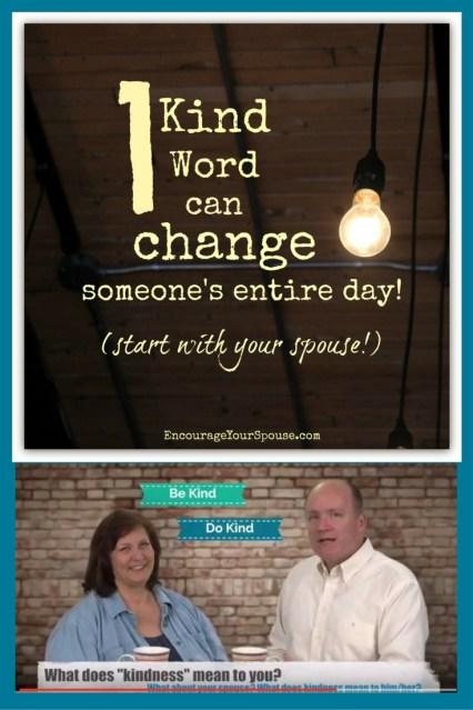 be kind - one kind word