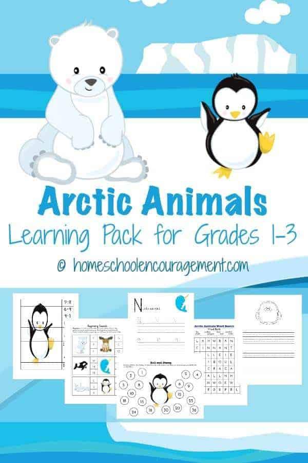 Arctic Animals Unit Study and Printables