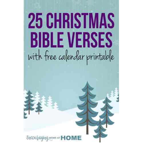 Medium Crop Of Christmas Bible Verses