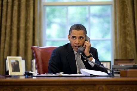 Obama And Turkey - Public Domain