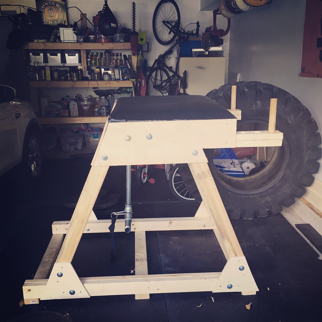 Garage Gym Reviews Diy Platform Diy Reverse Hyper Tutorial For The Garage Gym Athlete