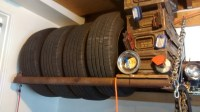 diy tire rack - DIY Reviews & Ideas