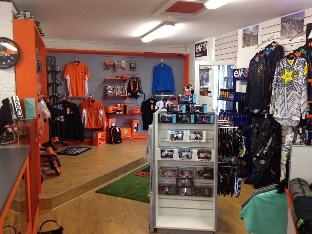 Ktm Shop At Second Store For Vigors Mx Enduro Racing In Ireland