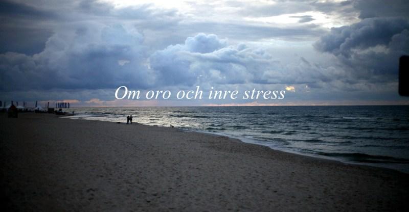 bild på hav. om oro och inre stress