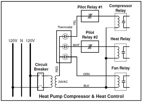 Heat Pump Control Wiring Diagram - 511castlefansde \u2022