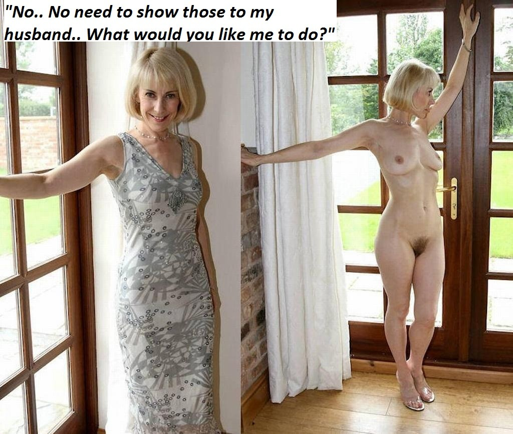 mom forced to strip