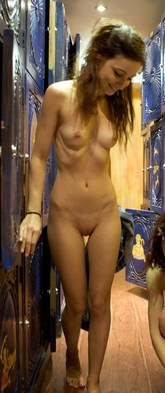 locker room of nude wome