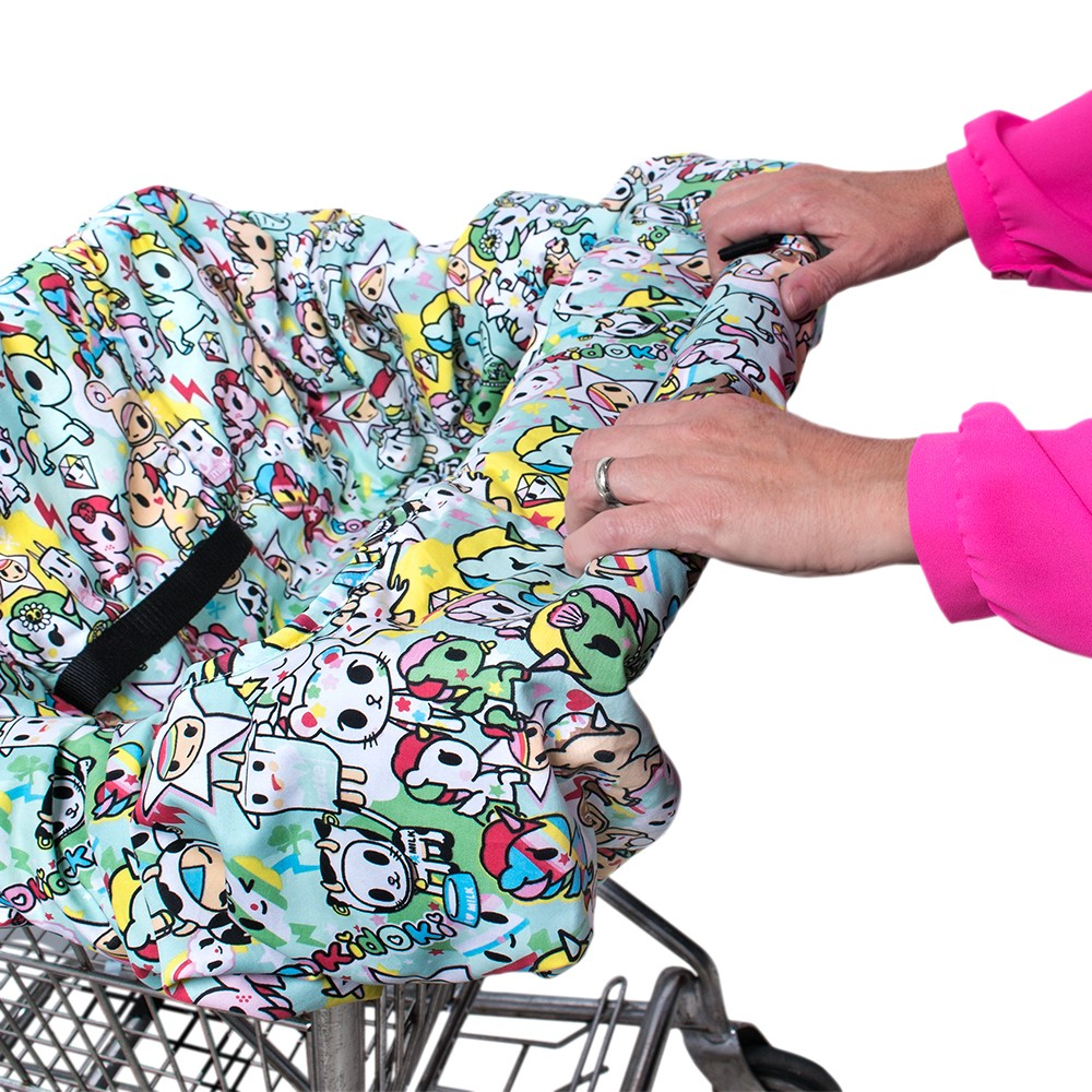 Shopping Com Au Bebe Au Lait Shopping Cart Cover Tokidoki Unikiki
