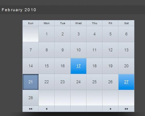 Create Calendar App Using Codeigniter - 2 Most Amazing Tutorials - Enfew - create a picture calender