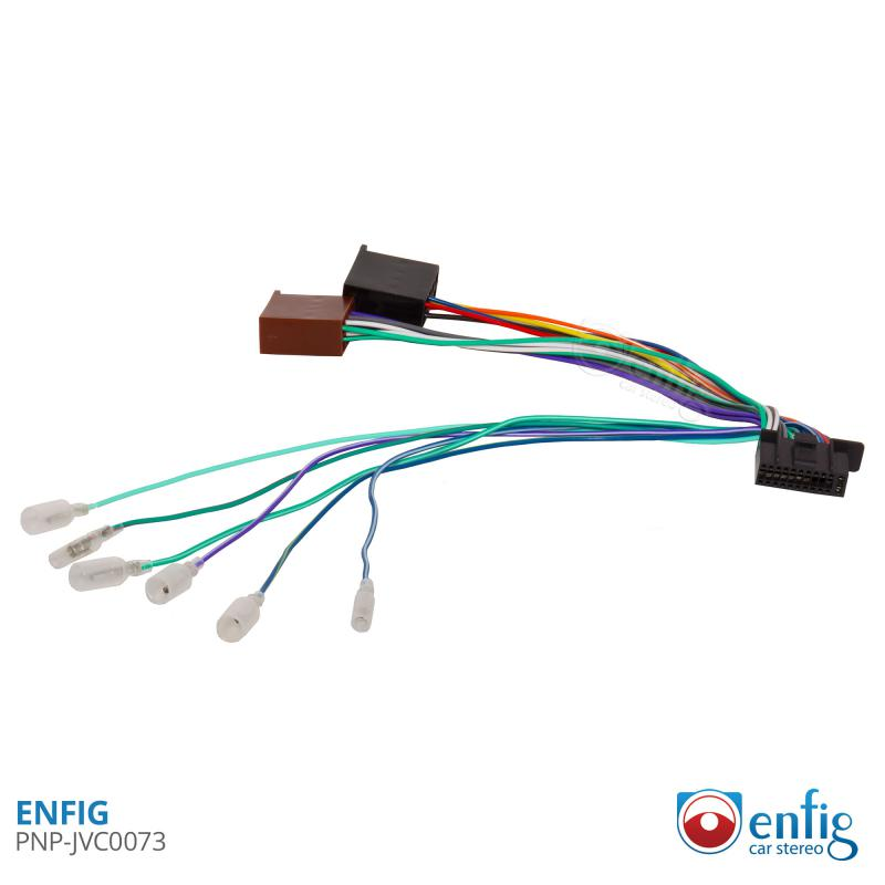 Enfig PNP Plug and Play Adapters for aftermarket radios
