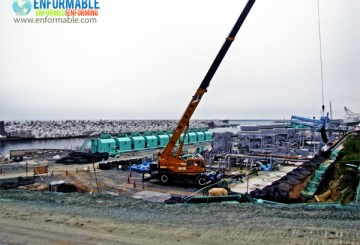 Unit 5,6, Maintenance work at port and harbors from Unit 6 seaside yard