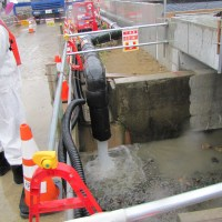 TEPCO says groundwater bypass operations not having effect at Fukushima Daiichi