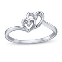 4 Perfect Heart & Bow Diamond Engagement Rings for the ...