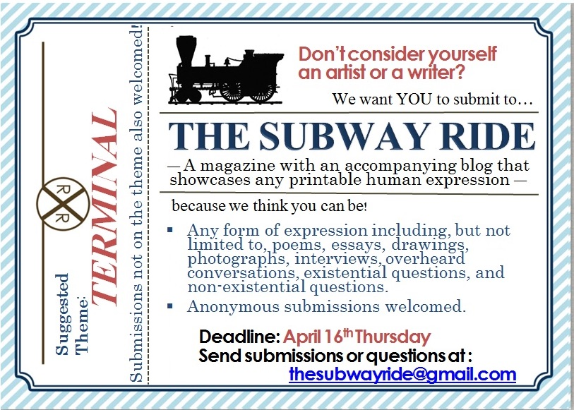 Submit to The Subway Ride ENGAGE - Wesleyan University