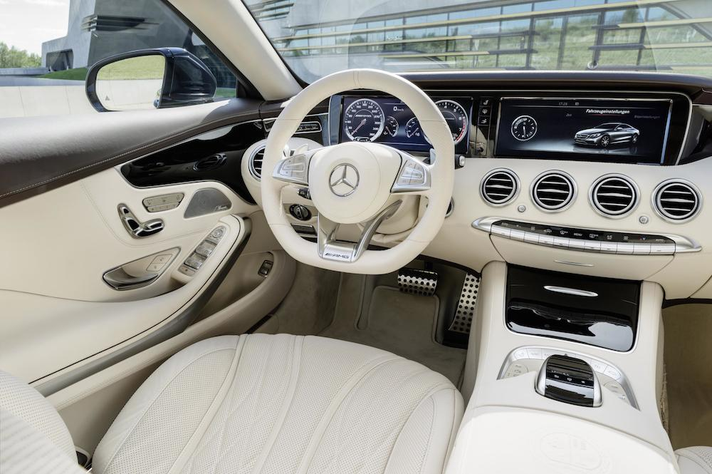 Volvo 850 Interieur 2014 Mercedes-benz S 65 Amg Coupe Interior 01