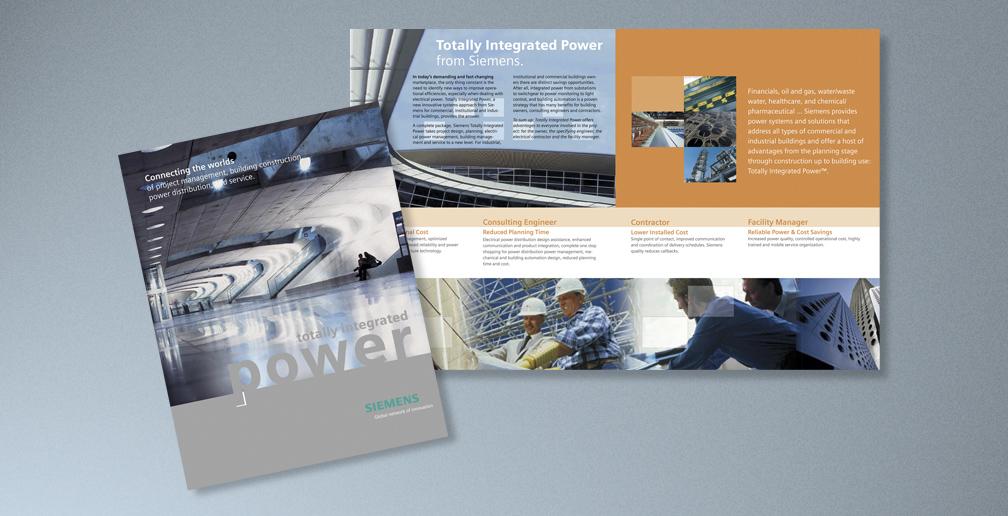 corporate brochure sample