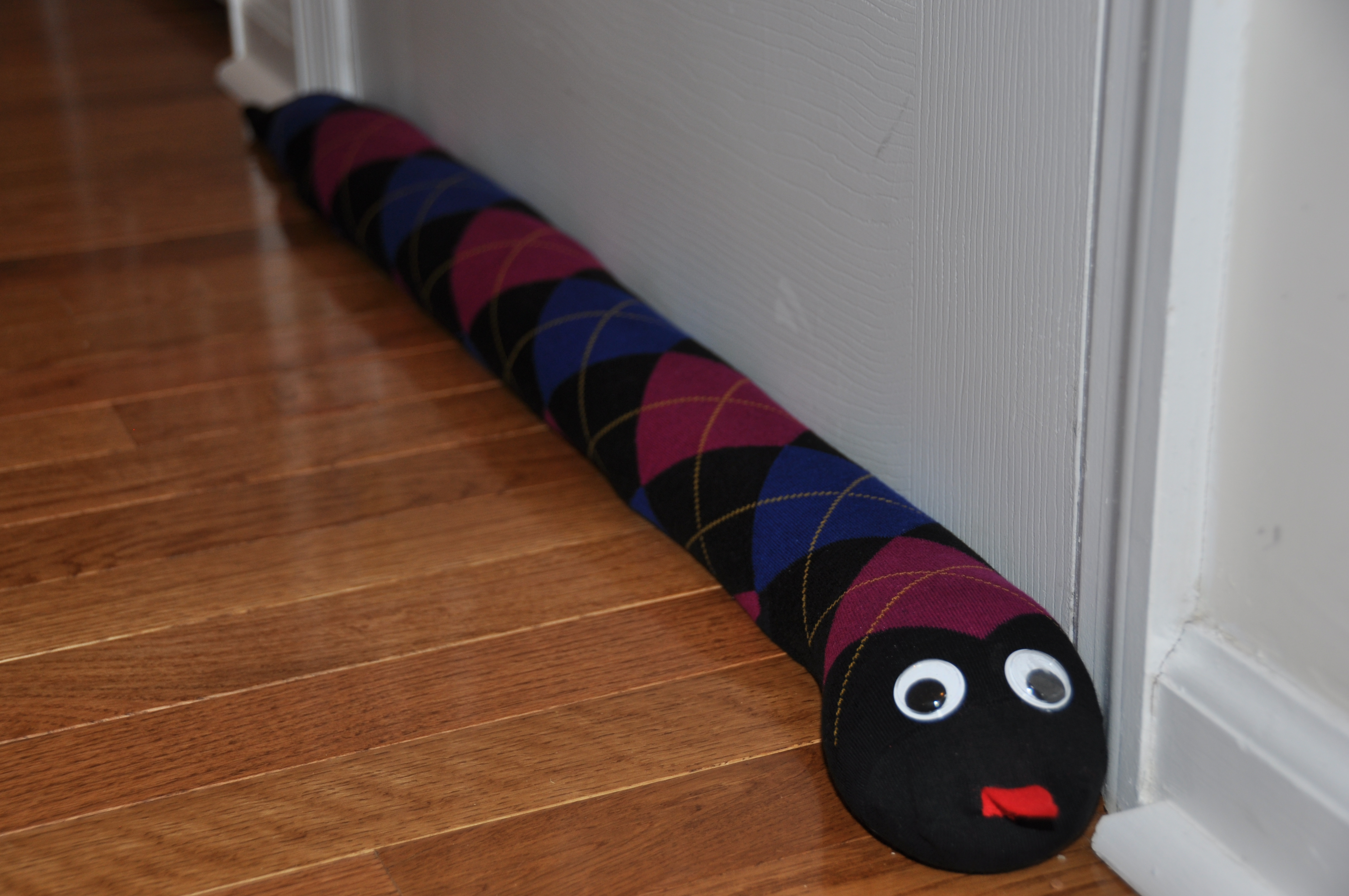 Homemade Gift: Door Draft Stopper