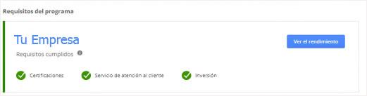 Google Partner Company Certification