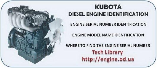 KUBOTA engine Manuals  Parts Catalogs