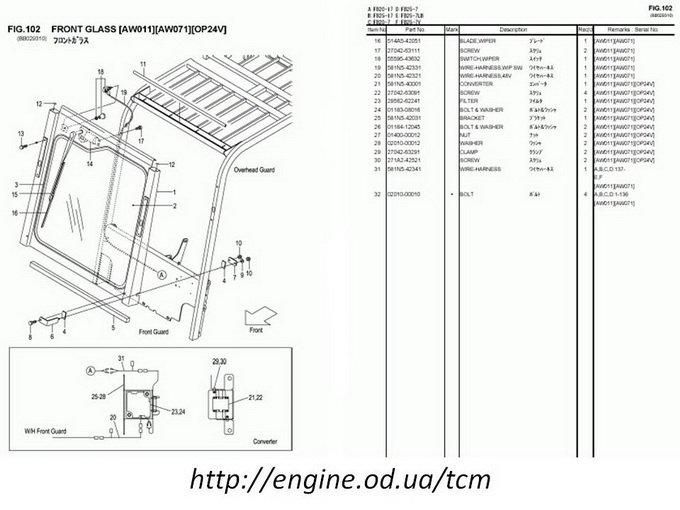Forklift Parts Diagram - Wiring Diagram Best DATA