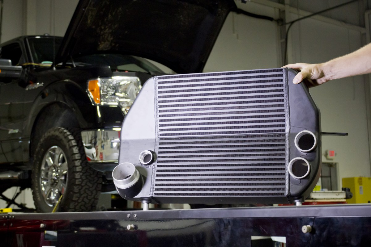 Cool Air For the EcoBoost. F-150 Intercooler R&D, Part 8: Test Fit and Dyno Data