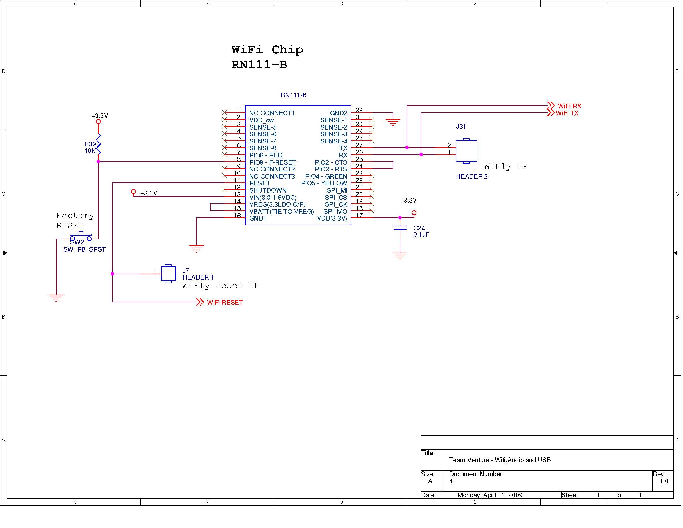 wireless usb port schematic