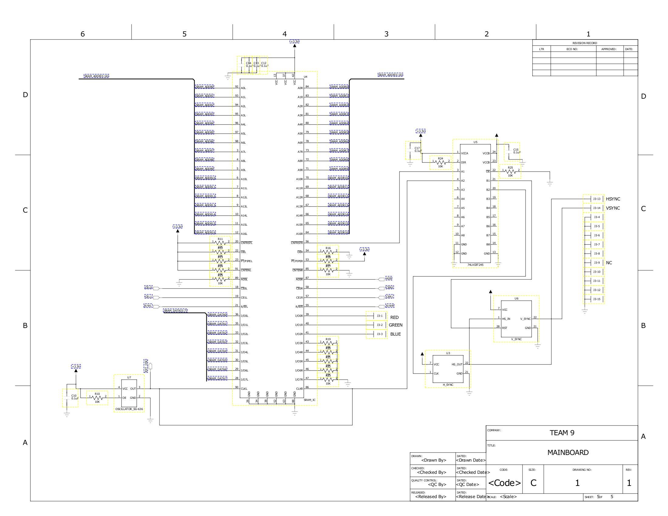 vga splitter schematics