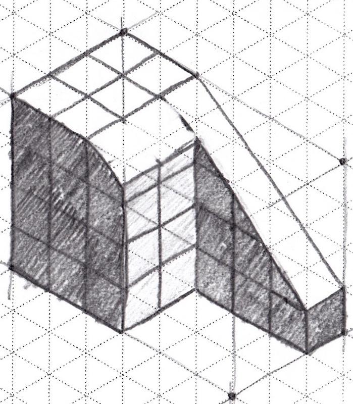 simple block diagram in latex
