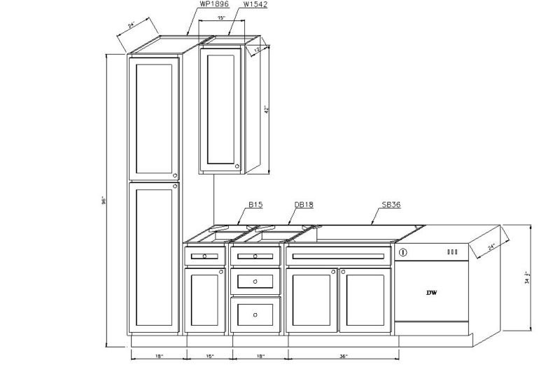 Standard Kitchen Cabinet Measurements Helpful Kitchen Cabinet Dimensions Standard For Daily Use