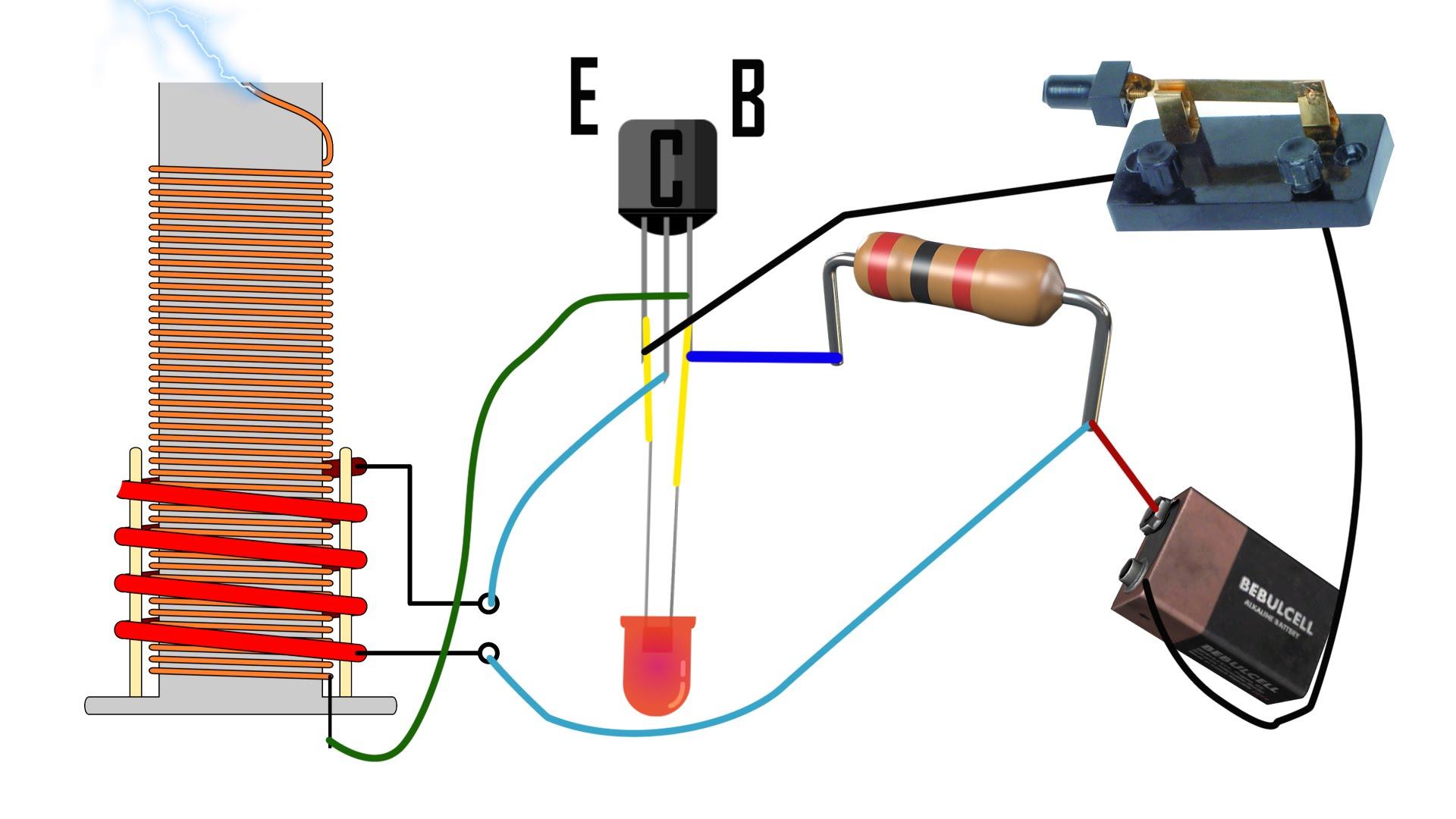 dc tesla coil wiring diagram