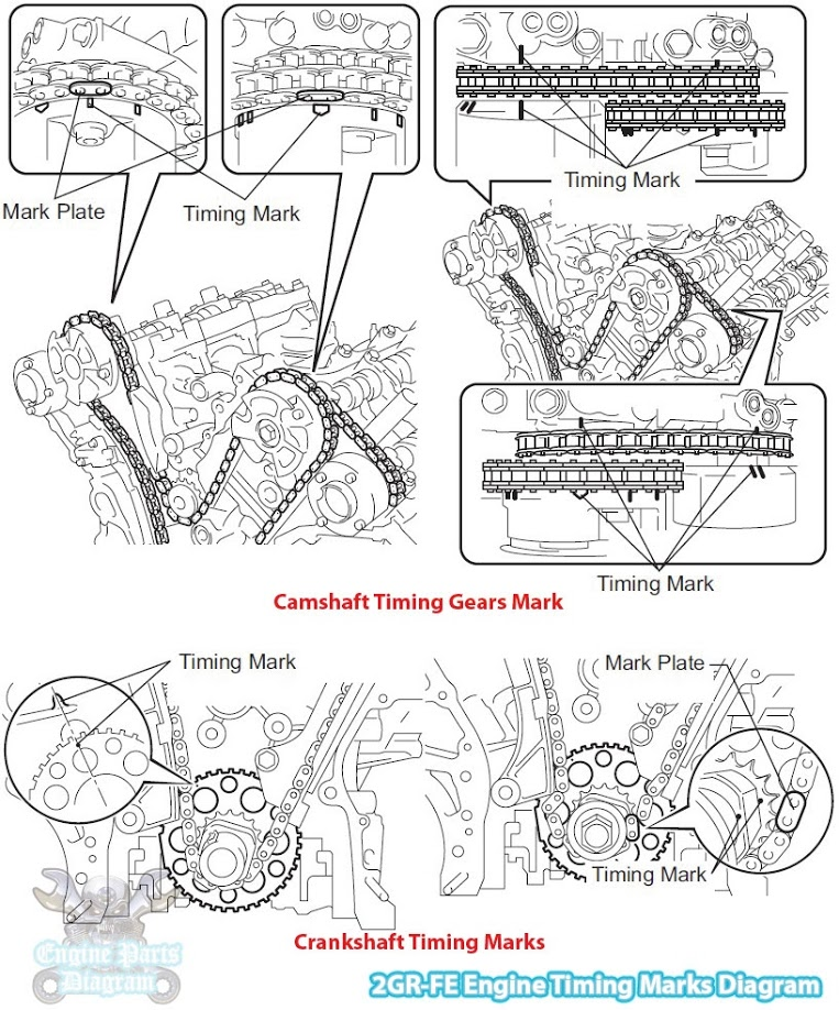 toyota yaris engine parts diagram