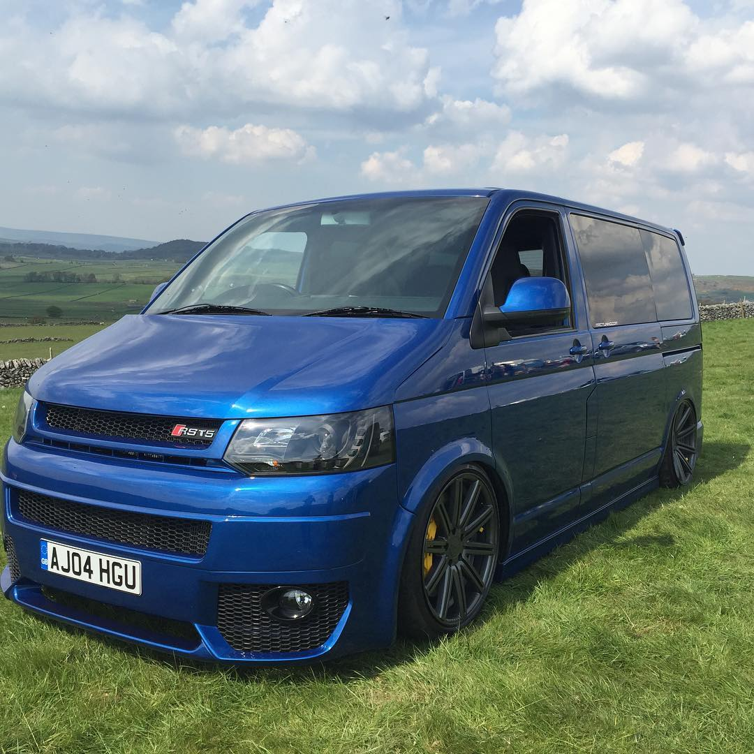 Vw Transporter T5 Awd Vw Transporter Van With An Audi Rs4 V8 Engine Swap Depot