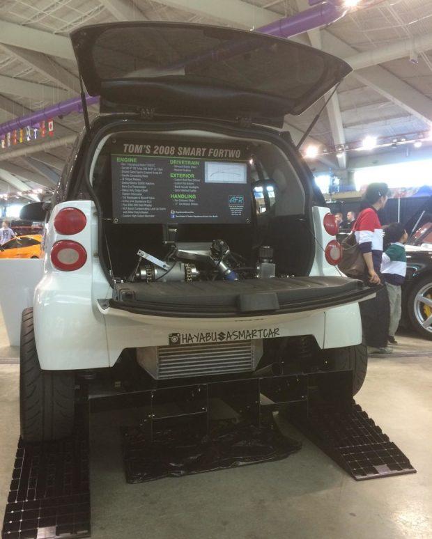 Smart Fortwo with a Turbo Hayabusa Motor \u2013 Engine Swap Depot