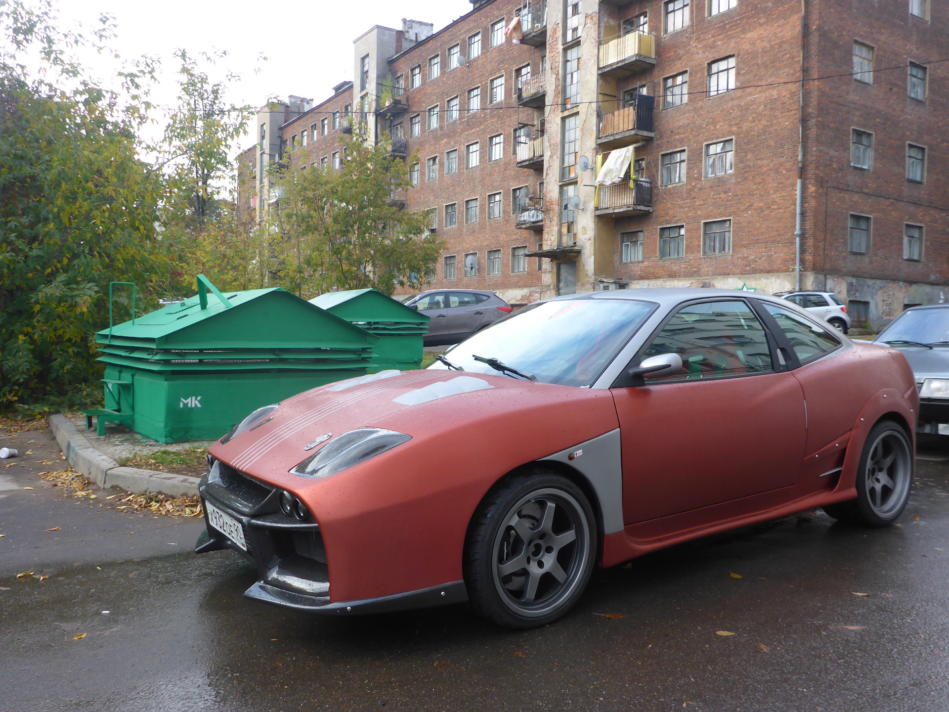 Fiat Coupe Awd Fiat Coupe With A Twin Turbo Mitsubishi V6 Engine