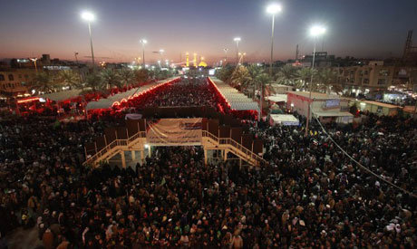 Baghdad Hd Wallpapers Shiites Throng Karbala For Arbaeen Climax Region World