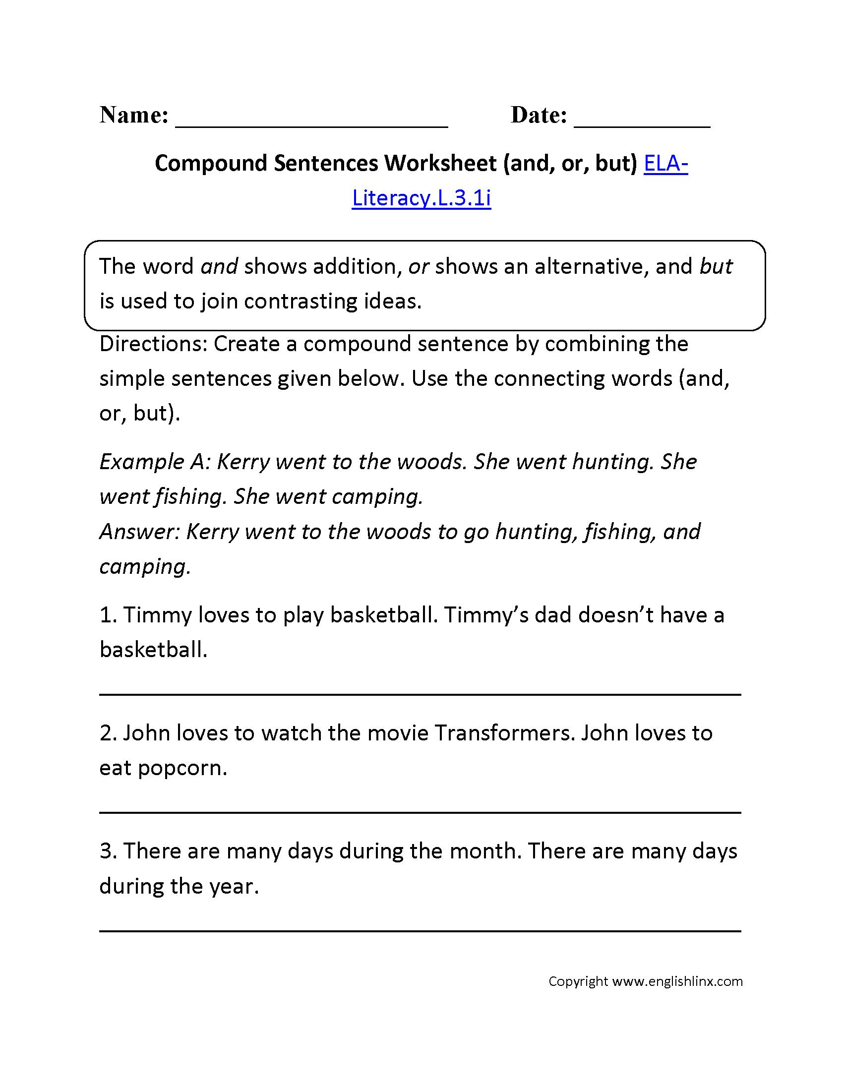 Subject verb agreement sentences worksheet images agreement complex  compound sentence example septic tank leak diagram subject