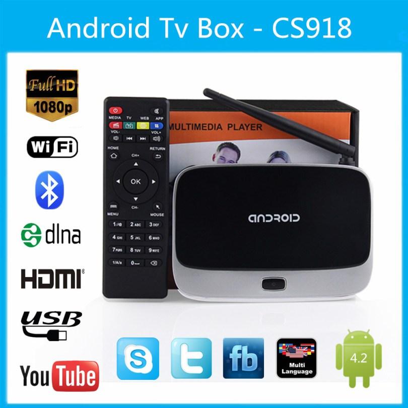 any cs918 android tv box user manual have good