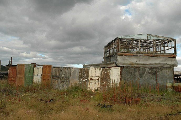Russian dead town - stays abandoned 26