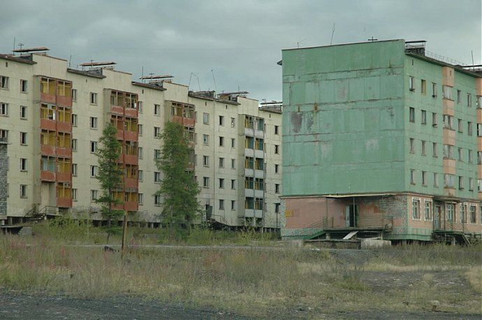 Russian dead town - stays abandoned 68