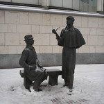 Holmes and Watson in Moscow (Wikipedia)