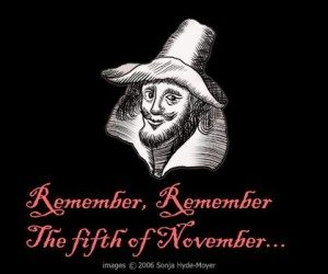 Remember Remember the fifth of November