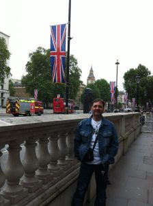 An English lesson in London with Gonzalo.