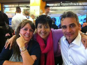 The lovely thing about having clients abroad is that you get to meet up with them on holiday - Roberta and Maurizio in Milan, Italy.